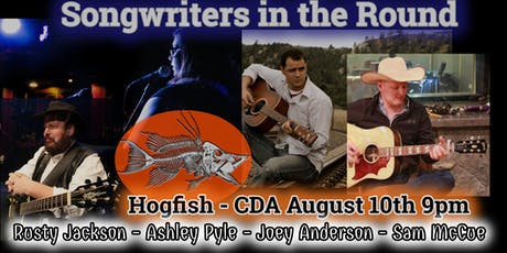 Songwriters round at Hogfish tickets