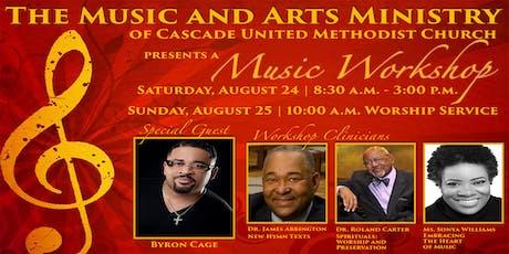 Cascade UMC Music Workshop tickets