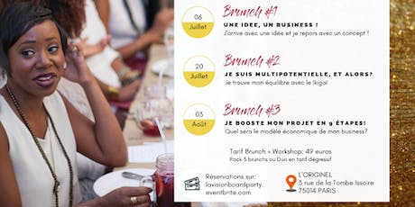 LA VISION BOARD PARTY_BRUNCH BUSINESS #3 billets