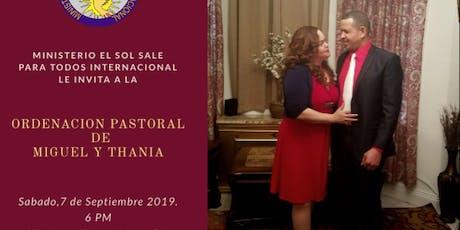 Ordenación Pastoral tickets