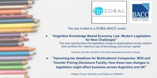"""New Argentine Knowledge Based Economy Law"""