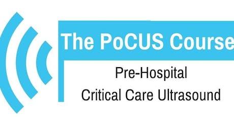 Pre-Hospital Critical Care Ultrasound - Rugeley West Midlands UK tickets