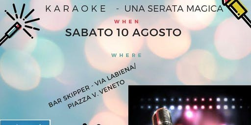 KARAOKE PARTY AL BAR SKIPPER