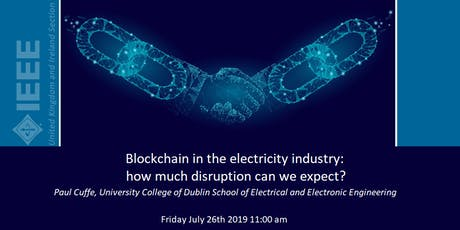 Blockchain in the electricity industry: how much disruption can we expect? tickets