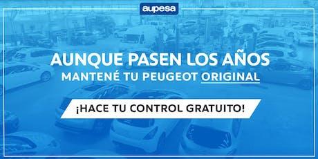 Control Gratuito Postventa - AUPESA Córdoba entradas