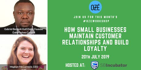 """""""How Small Businesses Maintain Customer Relationships and Build Loyalty"""" entradas"""