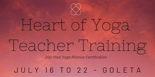 Heart of Yoga Teacher Training & DIY Retreat