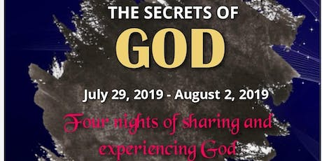 NVIZION YOUTH PRESENTS: SECRETS OF GOD tickets