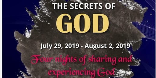 NVIZION YOUTH PRESENTS: SECRETS OF GOD