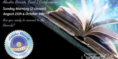 Akashic RecordReader Practitioner Level I Certification (2 Classes) tickets