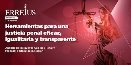 Herramientas para una justicia penal eficaz, igualitaria y transparente entradas
