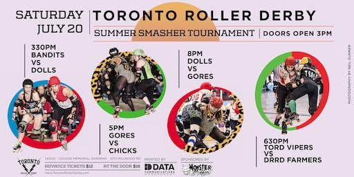 Toronto Roller Derby Summer Smasher Round Robin Tournament