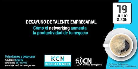 Desayuno de Talento Empresarial - Reunión Networking entradas