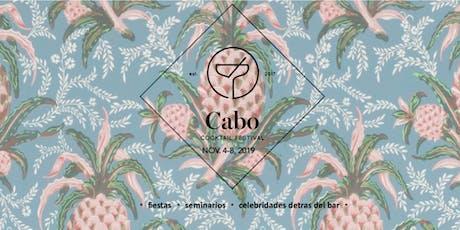 Cabo Cocktail Festival 2019 entradas