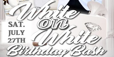 *WHITE ON WHITE BIRTHDAY BASH