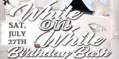*WHITE ON WHITE BIRTHDAY BASH