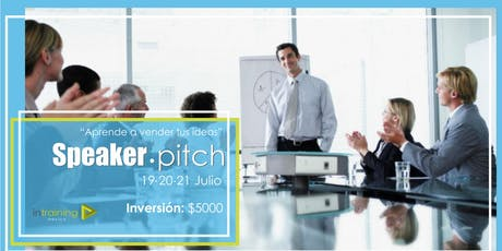 Speaker Pitch (aprende a vender tus ideas) entradas