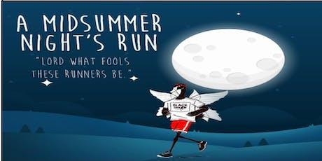 A Midsummer Night's Run tickets