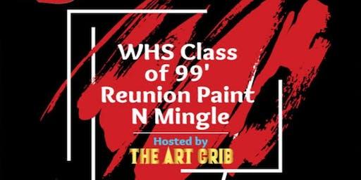 WHS Class of 1999 Reunion Paint N Mingle