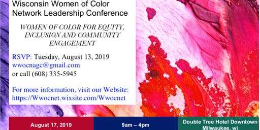 WOMEN OF COLOR FOR EQUITY, INCLUSION AND COMMUNITY ENGAGEMENT