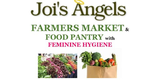 MONTHLY FREE FARMERS MARKET AND FOOD PANTRY