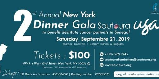 Soutoura 2nd Annual New York Dinner Gala