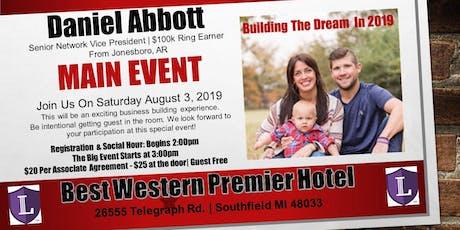Power of Success Super Saturday /w Daniel Abbott tickets