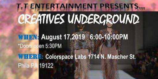 Creatives Underground Showcase