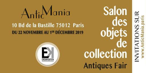 AnticMania – Le Salon des Objets de Collection