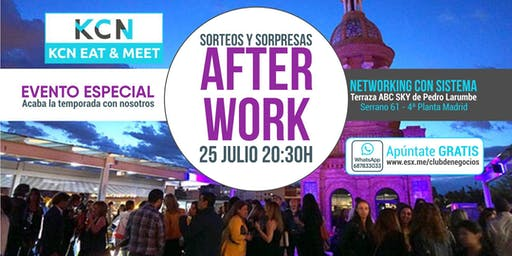 Evento Especial - AFTER WORK - Networking con Sist