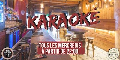 Karaoké - Tous les mercredis