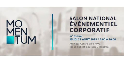 Salon événementiel corporative par Momentum