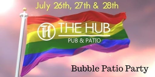 Bubble Patio Party with Bubbly