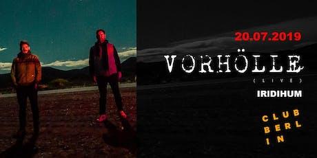 Dia del amigo -  Club berlin presenta - Vorhölle (live) entradas