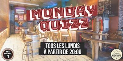 Monday Quizz