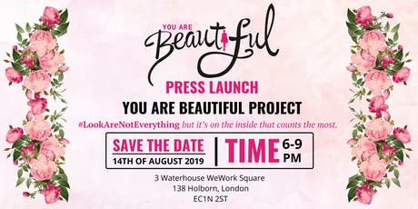 Press Launch You Are Beautiful Project tickets