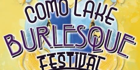 """Como Lake Burlesque Festival 2019 - The """"Queen of the Lake"""" Competition biglietti"""