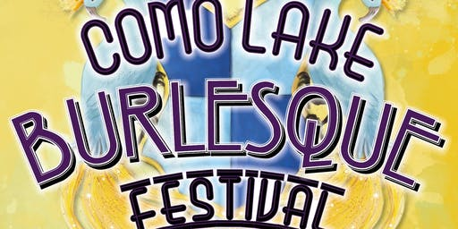 "Como Lake Burlesque Festival 2019 - The ""Queen of the Lake"" Competition"