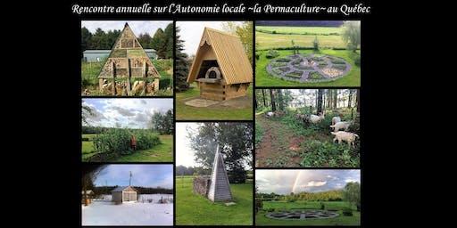 Rencontre Annuelle sur l'Autonomie Locale et la Permaculture au Québec