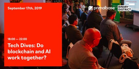 Tech Dives: Do blockchain and AI work together? tickets