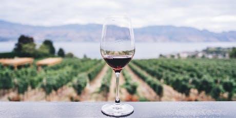 Weindegustation mit Weinkeller Rauch billets