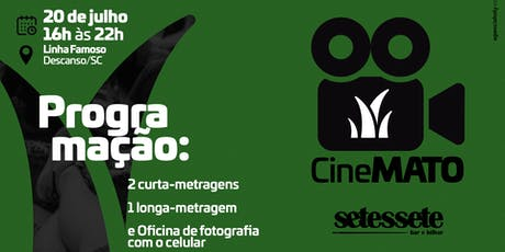 CineMato- Cinema ao ar livre ingressos