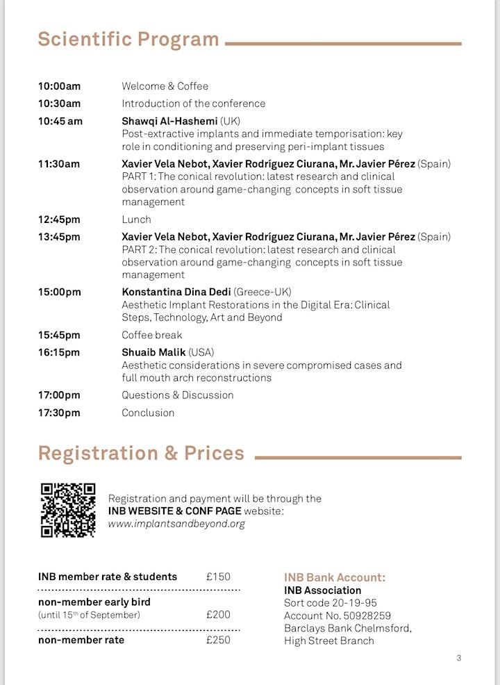 3rd INB Symposium image