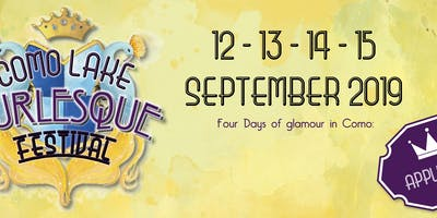 Como Lake Burlesque Festival 2019 - WORKSHOPS 14 - 15 Settembre