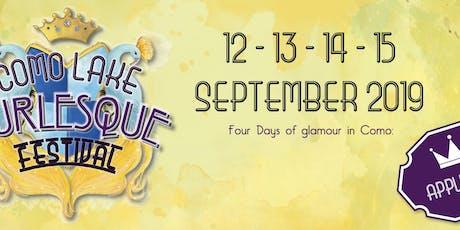 Como Lake Burlesque Festival 2019 - WORKSHOPS 14 - 15 Settembre biglietti