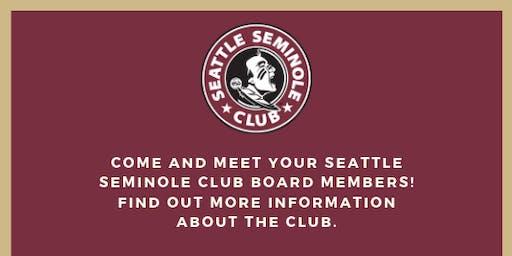 Seattle Seminole Club - Meet and Greet (Bellevue)