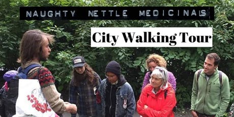 Identifying Wild Edible & Medicinal Plants - City Walking Tour tickets