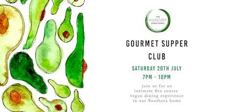 Gourmet Vegan Supper Club tickets