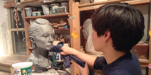 Realistic Portrait Sculpture Classes (Clay Sculpture) - Toronto, Danforth