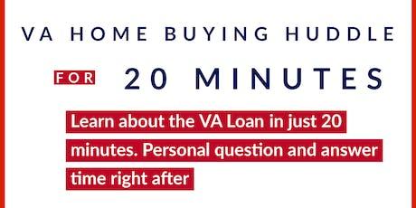 VA Homebuying Huddle tickets